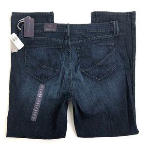 NYDJ Straight Jeans Sz 18W (Act 38W 33L) NWT